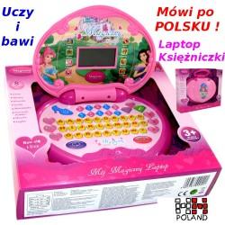Komputerek edukacyjny KSIĘŻNICZKI Uczy i bawi HIT! 4604