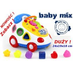 Baby Mix TELEFON EDUKACYJNY Klocki, sorter, dźwięk