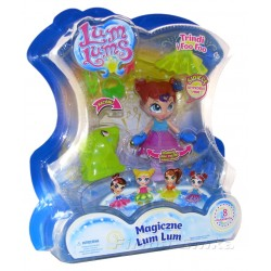 Magiczne LUM LUMS Świecąca lalka TRINDI i Foo Foo