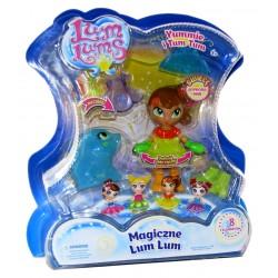 Magiczne LUM LUMS Świecąca lalka YUMMIE i TUM TUM