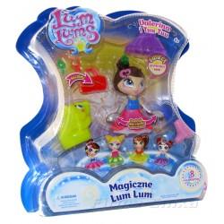 Magiczne LUM LUMS Świecąca lalka VALERINA +TUU TUU
