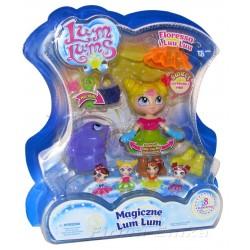 Magiczne LUM LUMS Świecąca lalka FLORESSA +Luu Luu