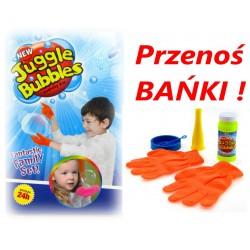 NOWOŚĆ Bańki mydlane + 2 RĘKAWICZKI DO ICH ŁAPANIA ! +Płyn