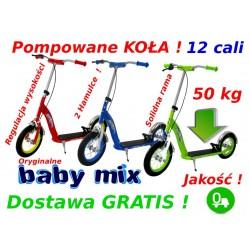Baby Mix SOLIDNA HULAJNOGA POMPOWANE KOŁA 12cali 2 HAMULCE