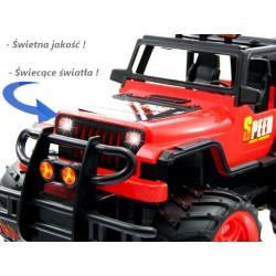 Auto sterowane Jeep SKALA1:16 AKUMULATOR ŁADOWARKA