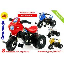 Rowerek Jeździk 3 kołowy Motorek PRODUKT POLSKI