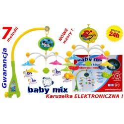 Baby Mix Karuzela Karuzelka ELEKTRONICZNA 7melodii