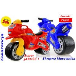 DUŻY Solidny POLSKI Motorek Rowerek Biegowy NGX-1
