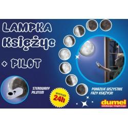 DUMEL Discovery Lampka Projektor KSIĘŻYC + Pilot !
