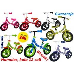 Solidny rowerek biegowy Baby Mix KOŁA 12