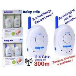 Baby Mix NIANIA ELEKTRONICZNA CYFROWA 2,4 GHz 300m