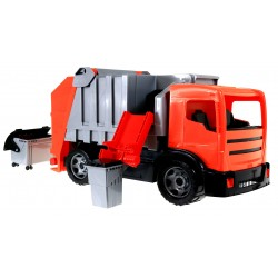LENA 02166 OGROMNA Śmieciarka kontener kosz, 100kg