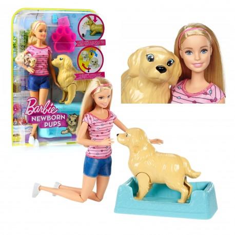 Lalka Barbie NARODZINY PIESKÓW + akcesoria MATTEL