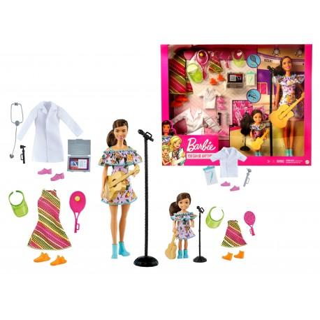Lalka Barbie LEKARZ PIOSENKARKA TENIS GNC63 MATTEL
