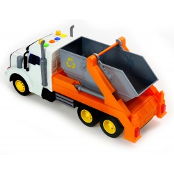 POLESIE Ciężarówka Auto KONTENER ŚMIECIARKA Dźwięk