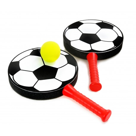 RAKIETKI PALETKI PLAŻOWE Piłka Nożna + PIŁKA
