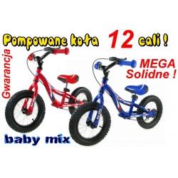 Baby Mix rowerek biegowy POMPOWANE Koła12 Fun bike
