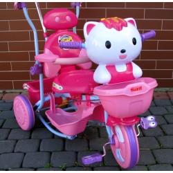 ROWEREK TRÓJKOŁOWY +FUNKCJA HUŚTAWKA +Hello Kitty Gratis