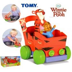 TOMY Disney Kangurek i Tygrysek Naciśnij i Jedź