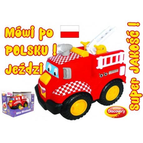DUMEL Discovery Straż Pożarna Wóz Strażacki Wierszyki po POLSKU