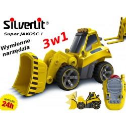 Silverlit 81113 Koparka Buldożer Widlak 3w1 R/C