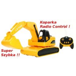 Sterowana KOPARKA Radio Control SZYBKA ! NOWOŚĆ !