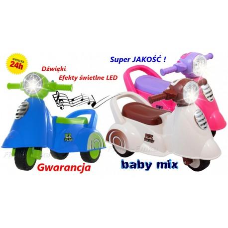 Jeździk Interaktywny SKUTER Motor Baby Mix JAKOŚĆ