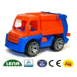 LENA 04416 Ciężarówka Śmieciarka RUCHOMA ! TRUXX