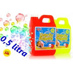 Bańki mydlane ZAPAS Płyn do robienia baniek 0,5 l