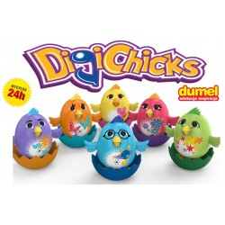 DUMEL Śpiewające kurczaczki DIGICHICS - DIGIBIRDS