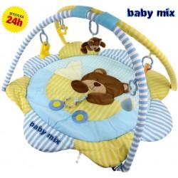 Baby Mix Mata edukacyjna MIŚ + PAŁĄK z Zabawkami