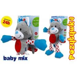 BABY MIX Przywieszka 33cm POZYTYWKA Kotek JAKOŚĆ !