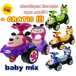 SUPER JEŹDZIK PSZCZÓŁKA PCHACZ BABY MIX + GRATIS