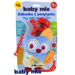 BABY MIX Maskotka 16cm + POZYTYWKA SOWA JAKOŚĆ !