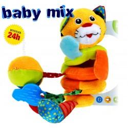 Przywieszka do wózka, łóżeczka, spiralka KOTEK Baby Mix