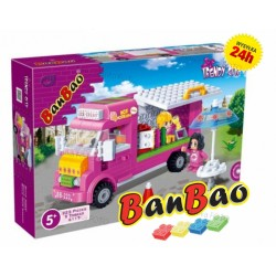 Klocki BanBao 6117 Mobilna lodziarnia Ban Bao