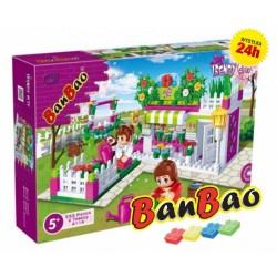 Klocki BanBao 6116 Kwiaciarnia Ban Bao