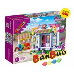 Klocki BanBao 6115 Kawiarnia Cukiernia Ban Bao