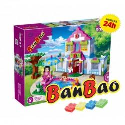 Klocki BanBao 6109 Domek snów z basenem Ban Bao