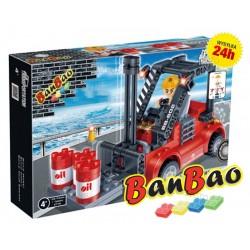 Klocki BanBao 8778 Wózek widłowy Ban Bao