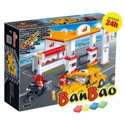 Klocki BanBao 8776 Stacja benzynowa Ban Bao