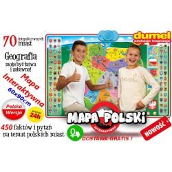 DUMEL Discovery Interaktywna MAPA POLSKI WYS 0 zł