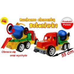 Auto Ruchoma BETONIARKA Leszko 55cm Produkt Polski