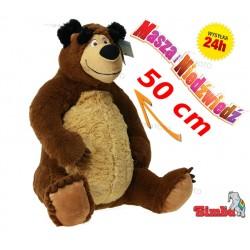 Masza i Niedźwiedź Miś Pluszowy 50 cm Maskotka SIMBA