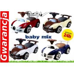 Jeździk BUGATTI Baby Mix Solidne duże koła