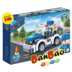 Klocki BanBao7017 Wóz patrolowy Ban Bao