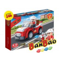 Klocki BanBao 7117 Jeep dowódcy straży Ban Bao