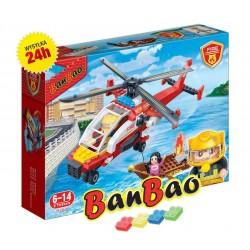 Klocki BanBao 7107 Helikopter strażacki Ban Bao