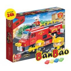 Klocki BanBao 7103 Wóz strażacki Ban Bao