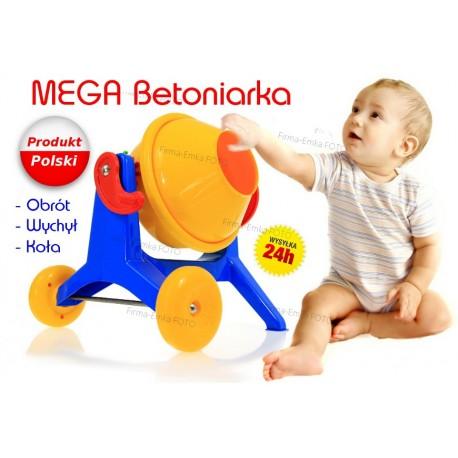 Duża MEGA BETONIARKA. Produkt POLSKI